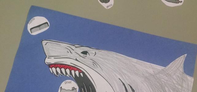 Shark Week in the Speech Room!